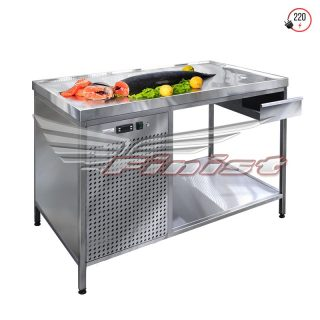 Холодильные столы открытые