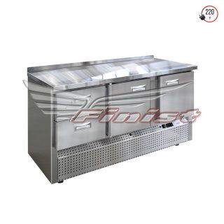 Холодильные столы с нижним расположением агрегата