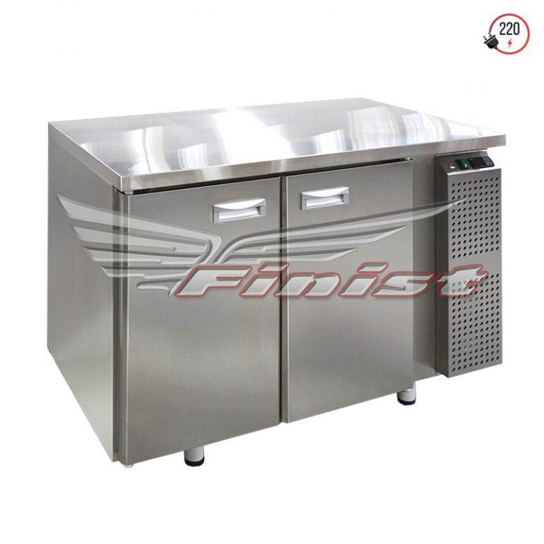 Компактные среднетемпературные холодильные столы с дверями и ящиками