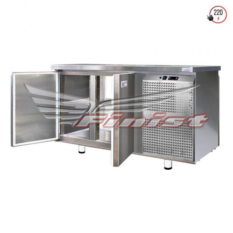 Сквозные холодильные столы