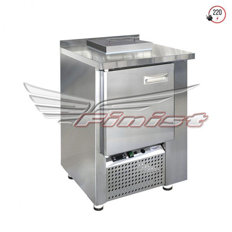 Среднетемпературный холодильный стол для бытовых отходов