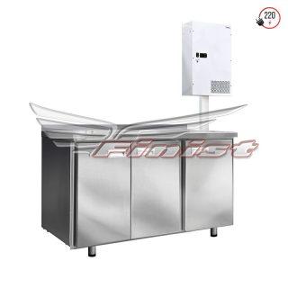 Холодильные столы с настенным агрегатным блоком