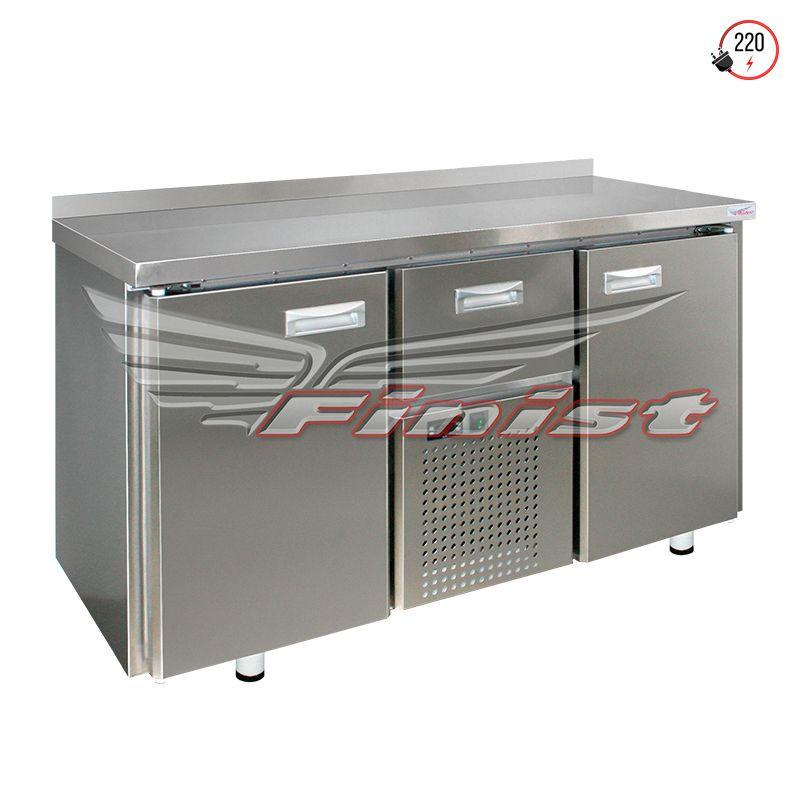 Среднетемпературные холодильные столы с дверями и ящиками с кассетным агрегатом