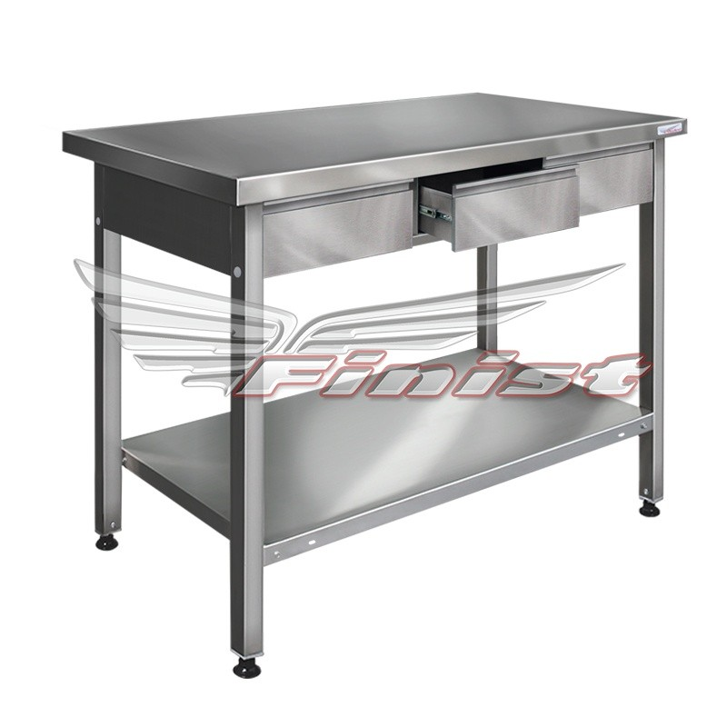Стол производственный сварной/разборный СПП/СППр с выдвижными ящиками