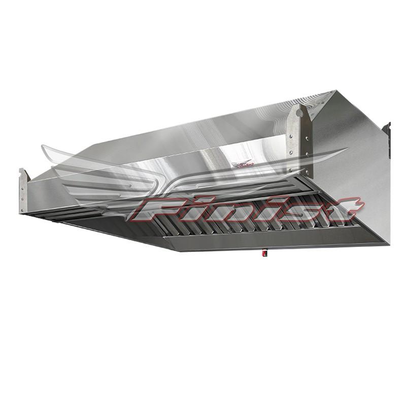 Зонт вытяжной нержавеющий ЗВН-03