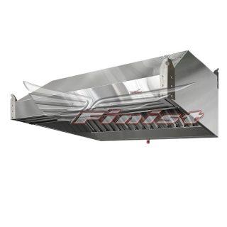 Зонт приточно-вытяжной нержавеющий ЗПВН-03