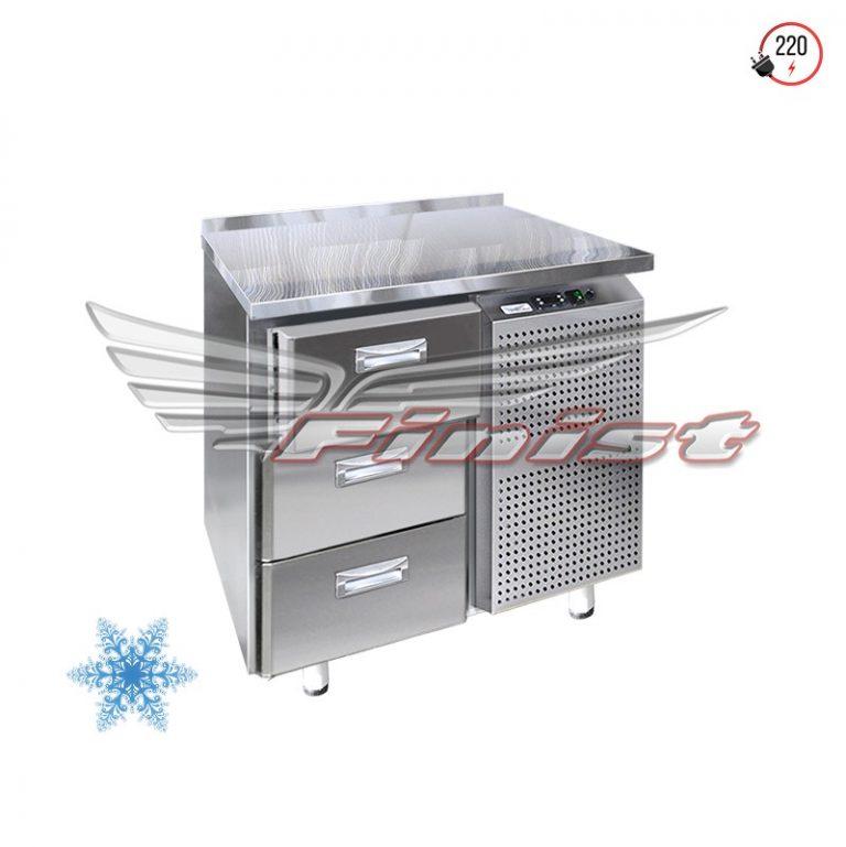 Низкотемпературный холодильный стол с одной дверью (ящиками)