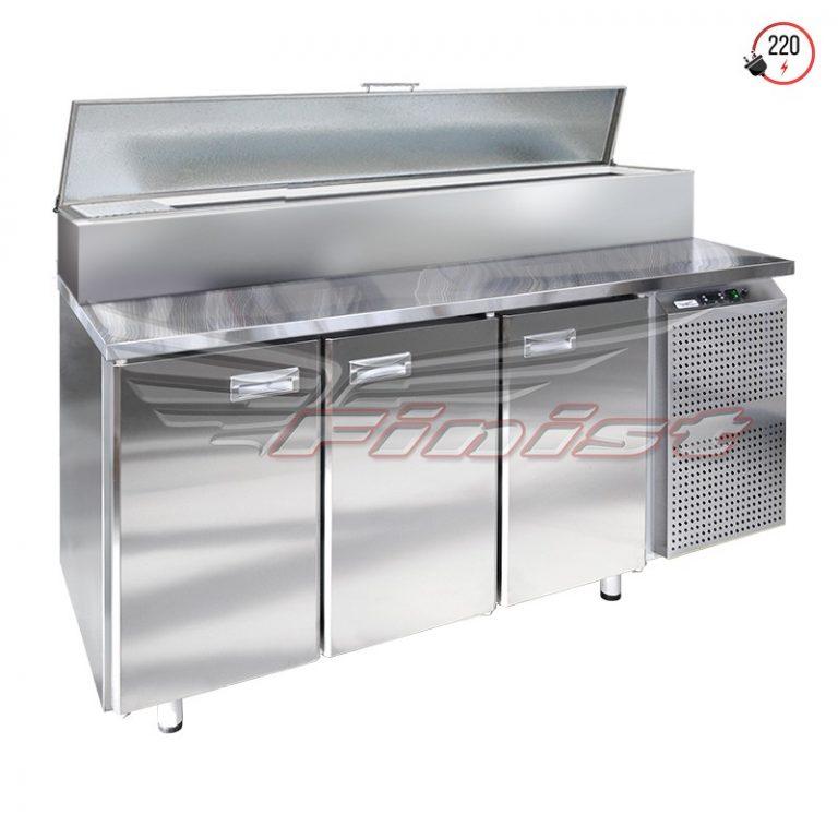 Стол холодильный для пиццы СХСпц-700(600)
