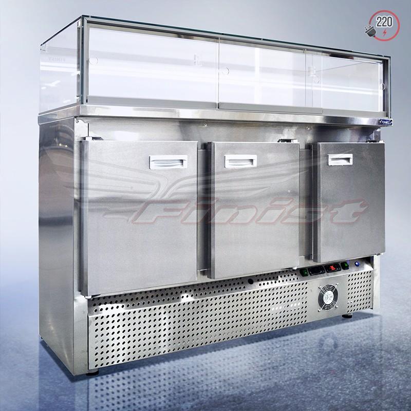 Среднетемпературная напольная холодильная витрина SPLINTER COLD