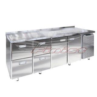 Среднетемпературный холодильный стол с 1 дверью (ящиками)