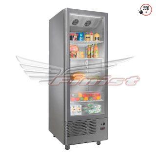 Однодверные среднетемпературные холодильные шкафы со стеклянными дверями