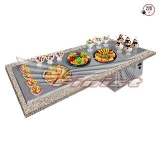 Встраиваемые холодильные поверхности STATIC table