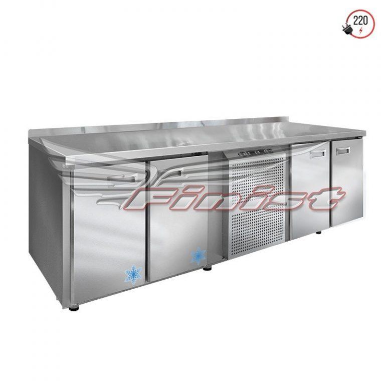 Комбинированный холодильный стол c 2 независимыми объемами