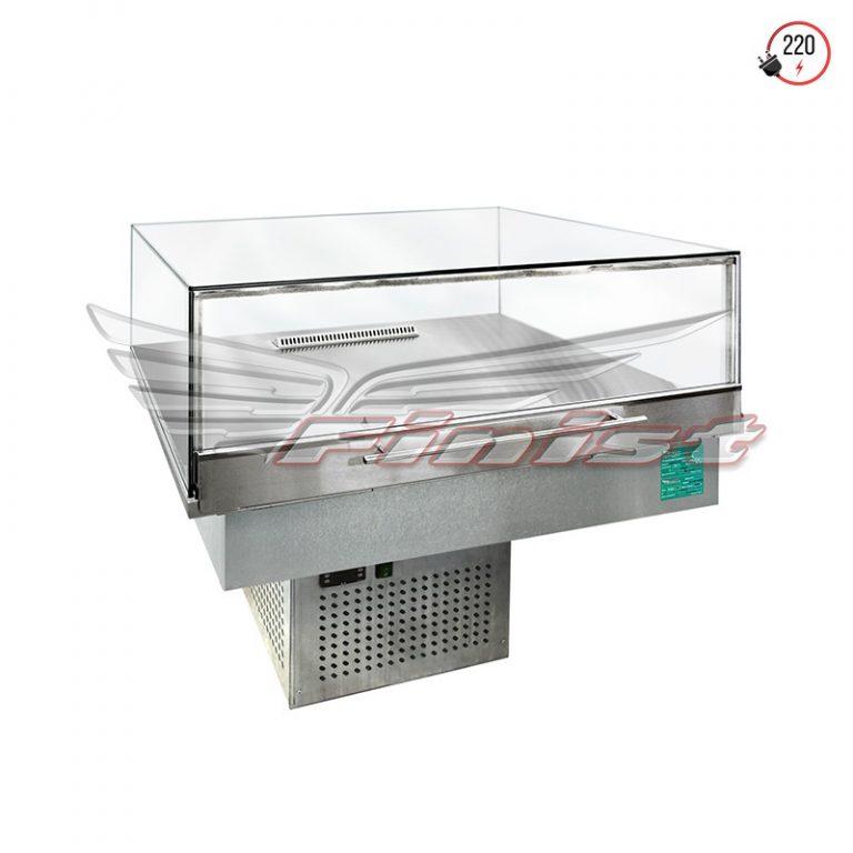 Встраиваемые горизонтальные кондитерские витрины Glassier SLIDE