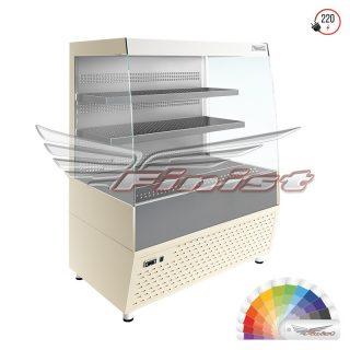 Напольная среднетемпературная  холодильная витрина-горка ELEGY (E2/1060)