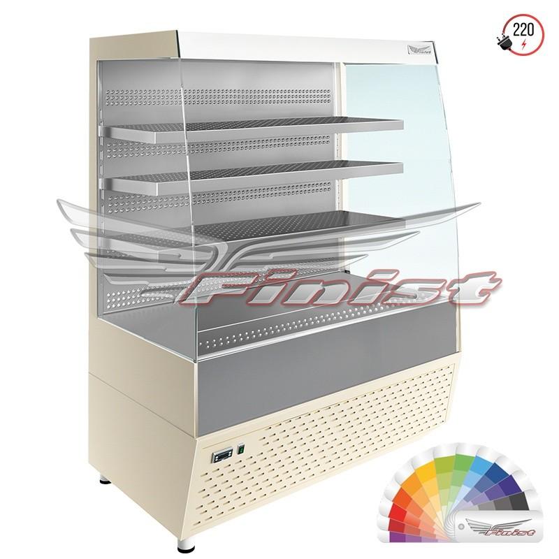 Напольная среднетемпературная  холодильная витрина-горка ELEGY (E3/1045)