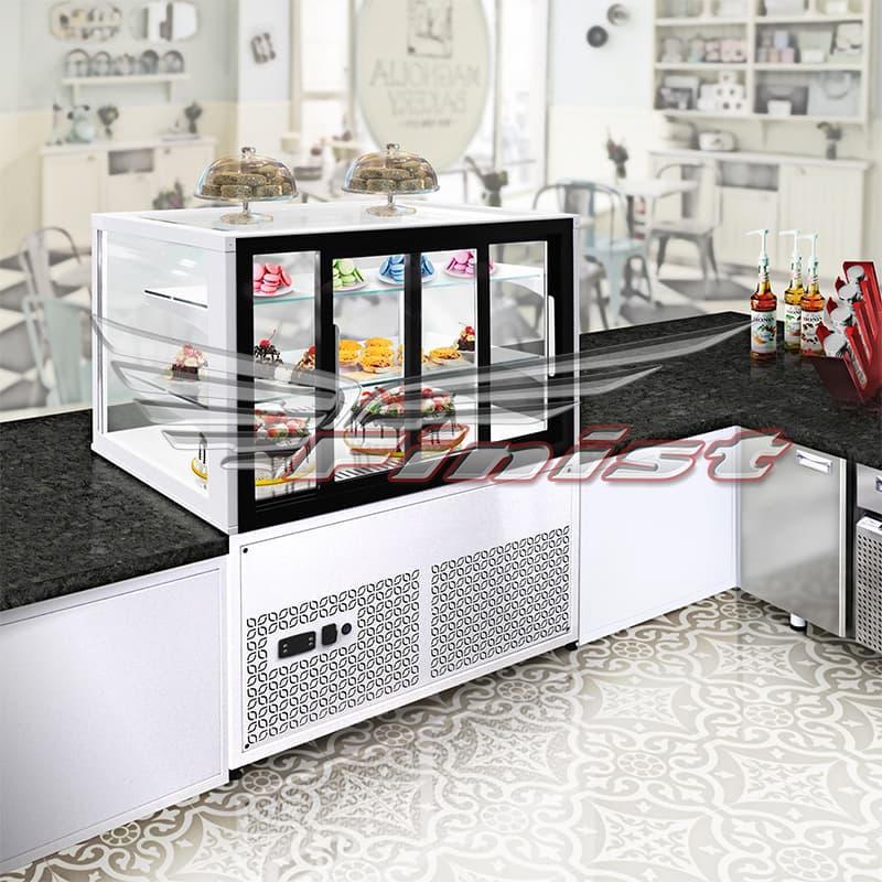 Среднетемпературная напольная холодильная витрина JOBS
