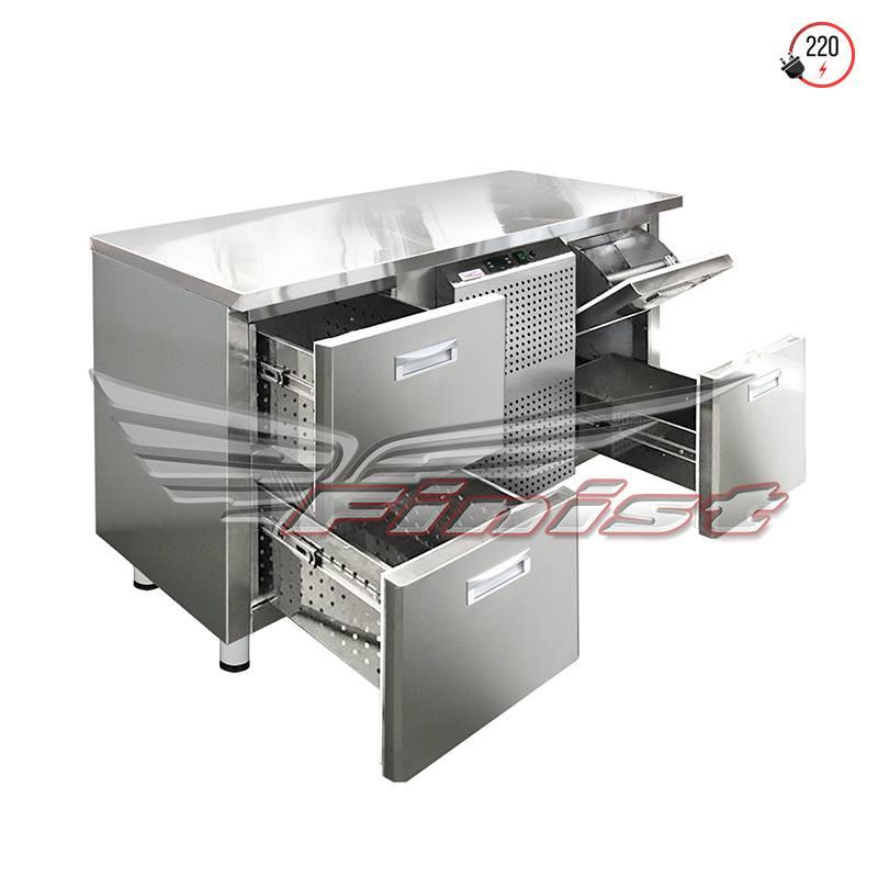Холодильный стол среднетемпературный с нок-боксом