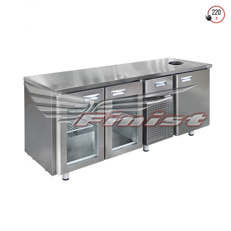 Холодильный стол среднетемпературный с нейтральной секцией
