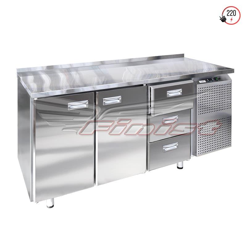 Холодильные столы с дверями и ящиками