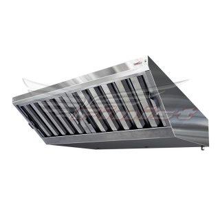 Зонт вытяжной для пароконвектоматов «Abat»