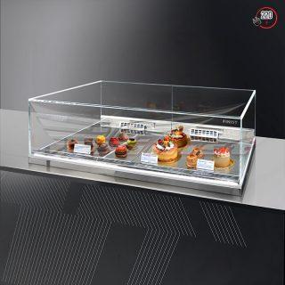 Встраиваемая кондитерская витрина Glassier SLIDE DUO